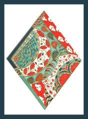 Design for silk throw © Molly Williams