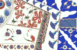 Iznik tiles design © Molly Williams