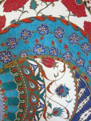 Inspired by Iznik ceramics © Molly Williams