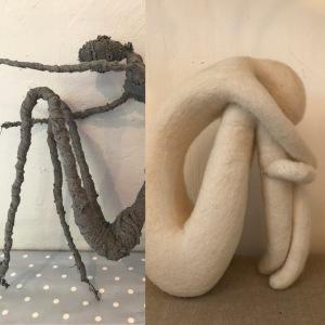 Molly Williams sculpture figure workshop