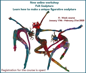Online Felt Workshops Molly Williams