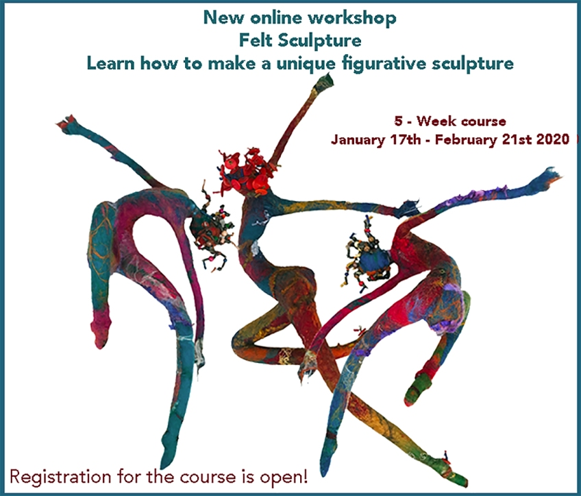 Online Felt Workshops Molly Williams